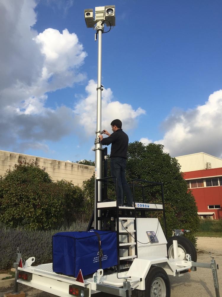 Mobile Surveillance Trailor