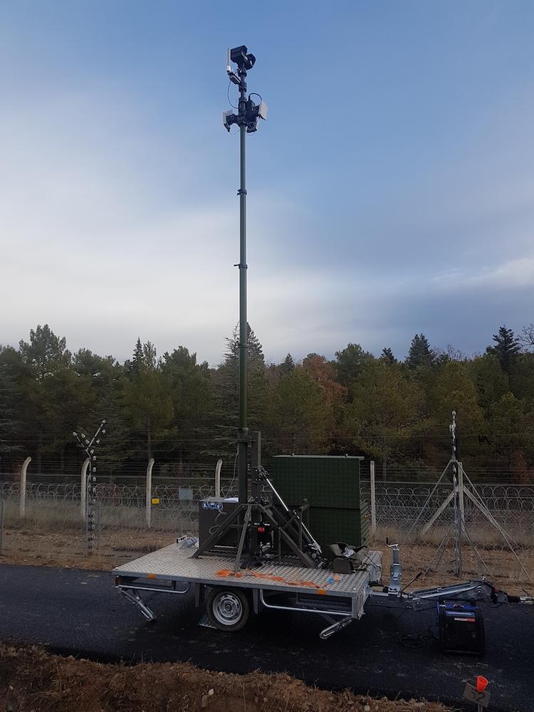 Optronic trailor in situ 1
